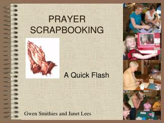 PRAYER SCRAPBOOKING