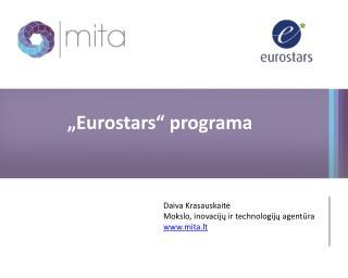 """Eurostars"" programa"