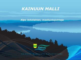 KAINUUN MALLI