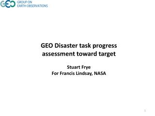 A Framework for Regional Disaster Management