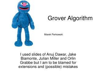 Grover Algorithm