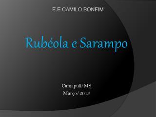 E.E Camilo Bonfim