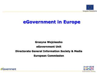 eGovernment in Europe