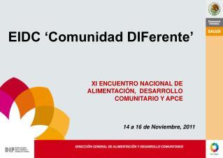 EIDC 'Comunidad DIFerente'