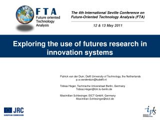 Exploring the use of futures research in innovation systems