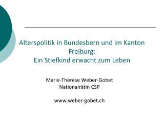 Alterspolitik in Bundesbern und im Kanton Freiburg: Ein Stiefkind erwacht zum Leben