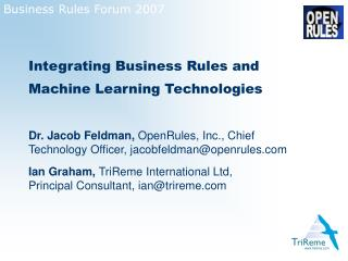 Business Rules Forum 2007