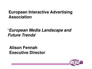 European Interactive Advertising Association