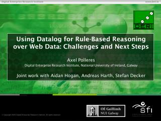 Using Datalog for Rule-Based Reasoning over Web Data: Challenges and Next Steps