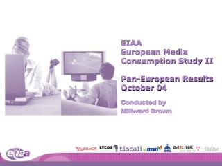EIAA  European Media  Consumption Study II Pan-European Results October 04