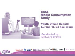 Youth Online Results Europe 15-24 age group