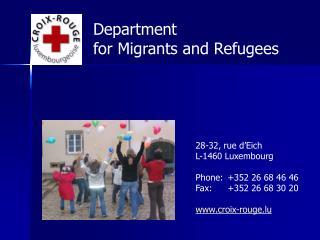28-32, rue d'Eich L-1460 Luxembourg Phone:+352 26 68 46 46 Fax: +352 26 68 30 20