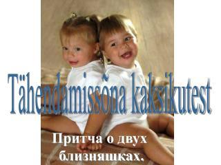 Tähendamissõna kaksikutest