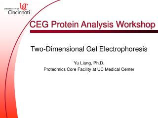 CEG Protein Analysis Workshop