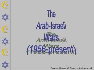 The Arab-Israeli Wars (1956-present)