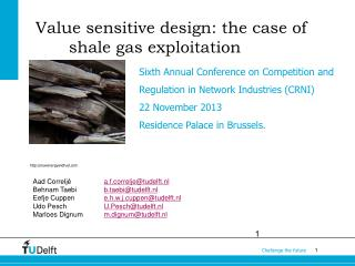 Value sensitive design: the case of shale gas exploitation