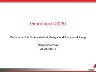 Grundbuch 2020