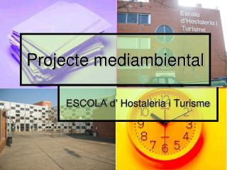 Projecte mediambiental