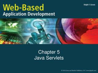 Chapter 5 Java Servlets