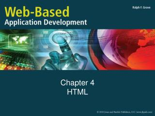 Chapter 4 HTML