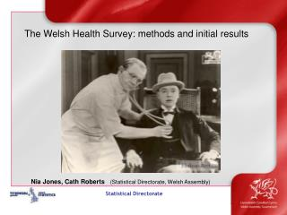 The Welsh Health Survey: methods and initial results
