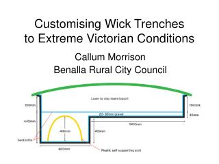 Customising Wick Trenches to Extreme Victorian Conditions