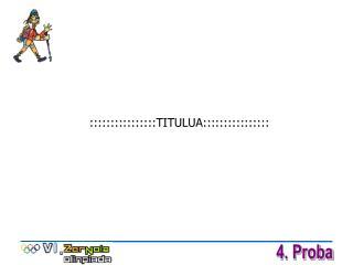 ::::::::::::::::TITULUA::::::::::::::::