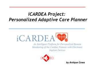 iCARDEA Project:     Personalized Adaptive Care Planner