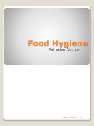 Food Hygiene