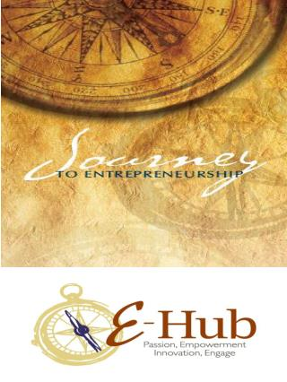 """The New Entrepreneurial Hope:  Innovation, Empowerment and Passion"""