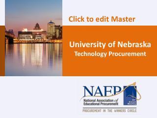 University of Nebraska Technology Procurement