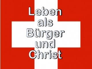 Leben als B�rger und Christ