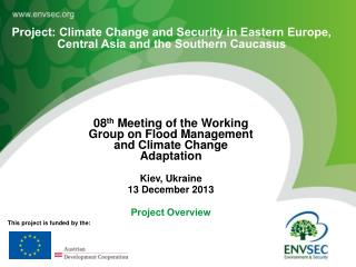 08 th  Meeting of the Working Group on Flood Management and Climate Change Adaptation