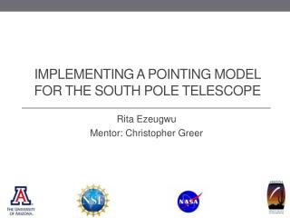 Implementing A  Pointing Model for the South Pole Telescope