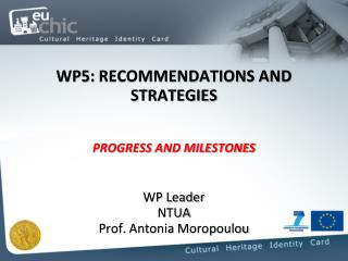 WP5:  RECOMMENDATIONS AND STRATEGIES