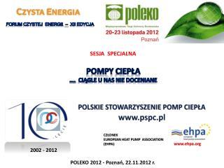 POLSKIE STOWARZYSZENIE POMP CIEPŁA pspc.pl