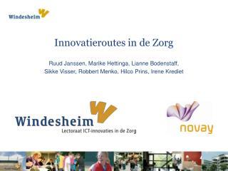 Innovatieroutes  in de Zorg