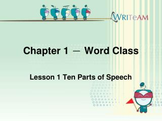 Chapter 1  -  Word Class