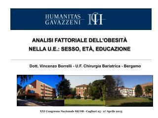 XXI Congresso Nazionale SICOB - Cagliari 25 - 27 Aprile 2013