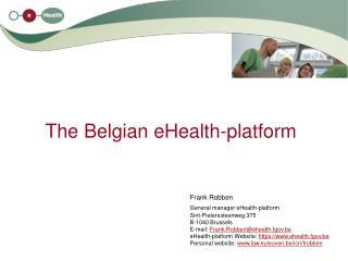 The Belgian eHealth-platform
