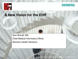 A New Vision for the EHR