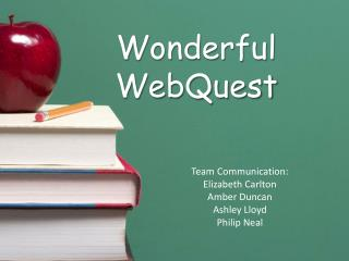 Wonderful WebQuest