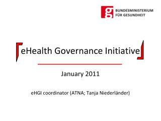 eHealth Governance Initiative