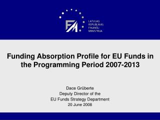 Funding Absorption Profile for EU Funds in the Programming Period 2007-2013