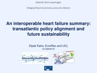 An interoperable heart failure summary: transatlantic policy alignment and future sustainability