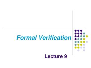 Formal Verification