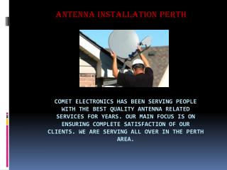 Comet Electronics | MATV Perth