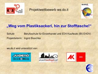 Projektwettbewerb we.do.it