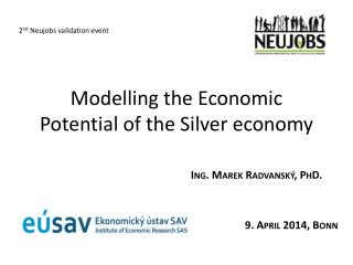 Modelling the Economic Potential of the Silver economy