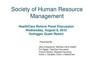 Society of Human Resource Management
